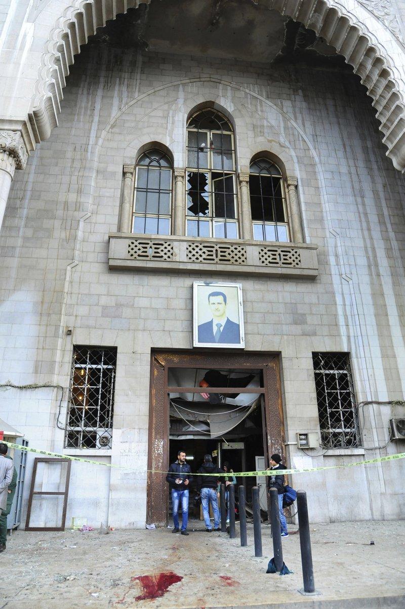 敘利亞內戰6週年當天,敘國首都大馬士革發生兩起爆炸案。(美聯社)