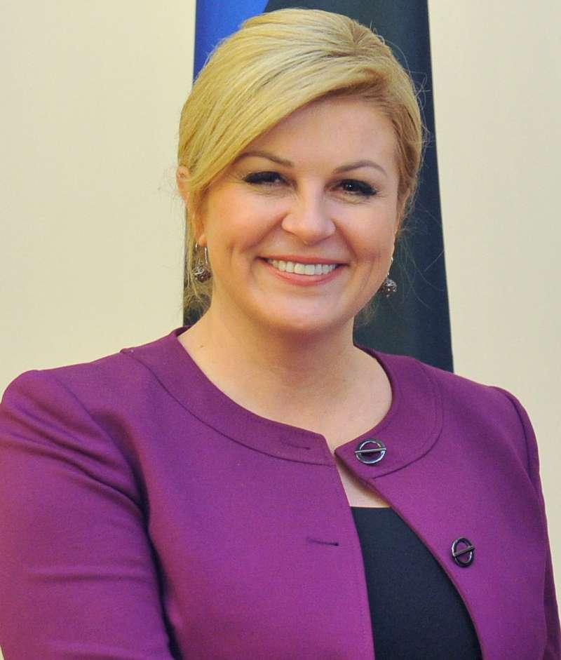 克羅埃西亞總統格拉巴爾─基塔羅維奇(Kolinda Grabar-Kitarović)(Estonian Foreign Ministry@Wikipedia / CC BY 2.0)