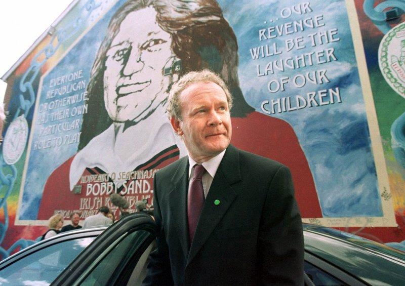 北愛爾蘭,新芬黨,愛爾蘭共和軍,IRA,麥吉尼斯。(美聯社)