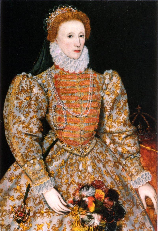 1575年的伊莉莎白一世(Wikipedia/Public Domain)