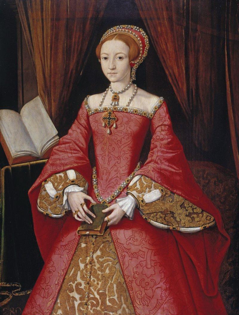 1546年左右、尚未登基的伊莉莎白(Wikipedia/Public Domain)