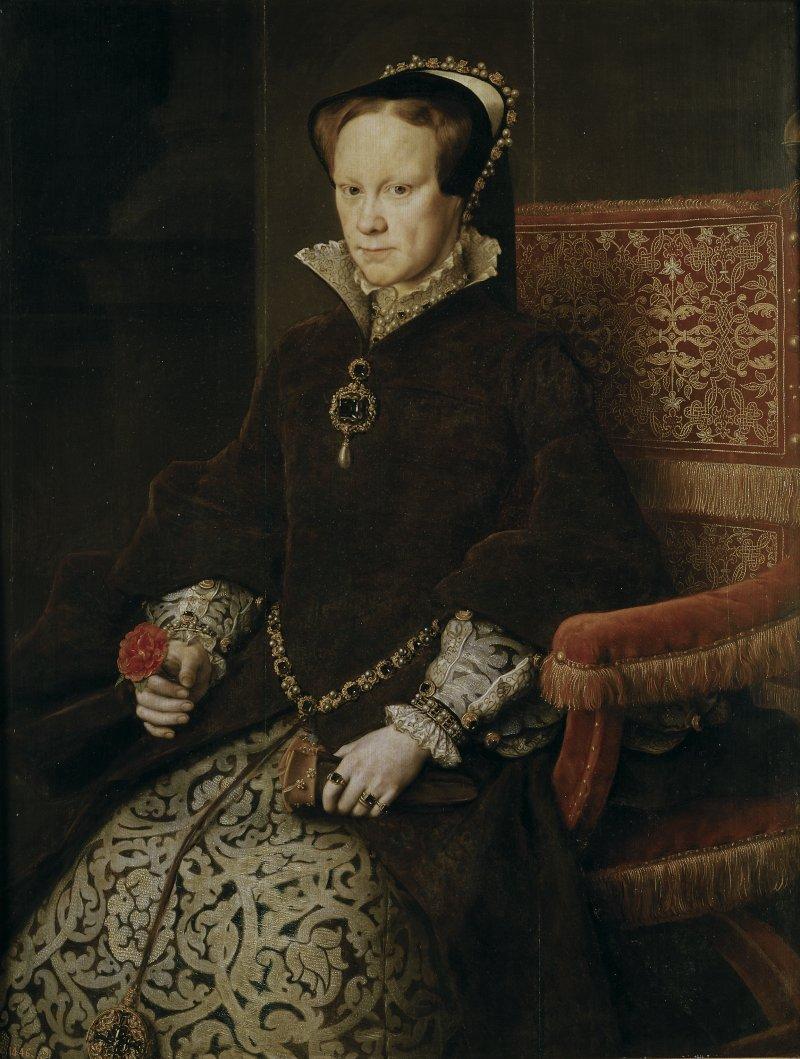 1554年的瑪麗一世(Wikipedia/Public Domain)