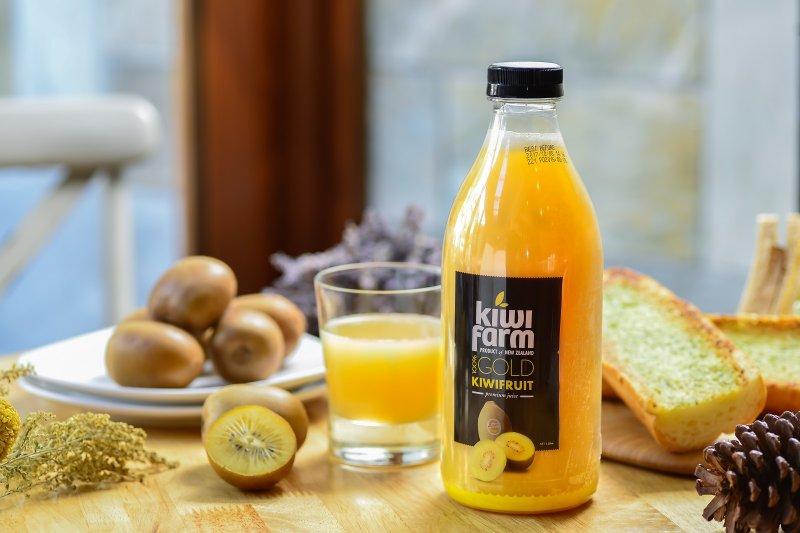 選自Zespri認證的高品質農場,保持最新鮮的狀況讓你每一口都喝得到新鮮美味。(圖/KiwiFarm提供)