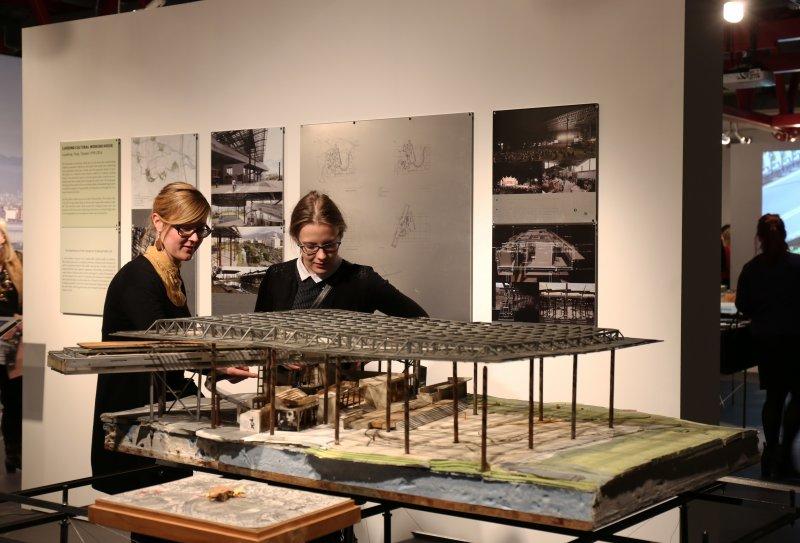 田中央愛沙尼亞專題-展覽現場照。(田中央聯合建築師事務所提供)