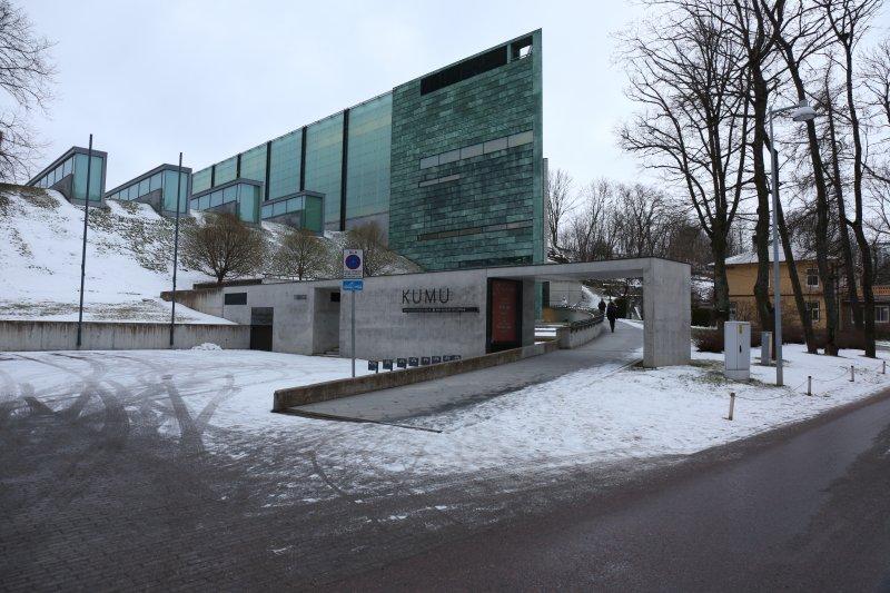 田中央愛沙尼亞專題-塔林新美術館(KUMU)。(田中央聯合建築師事務所提供)
