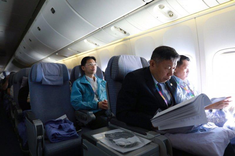 台北市長柯文哲26日啟程前往東南亞與印度,進行為期8天的市政參訪與觀光推廣。(北市府)