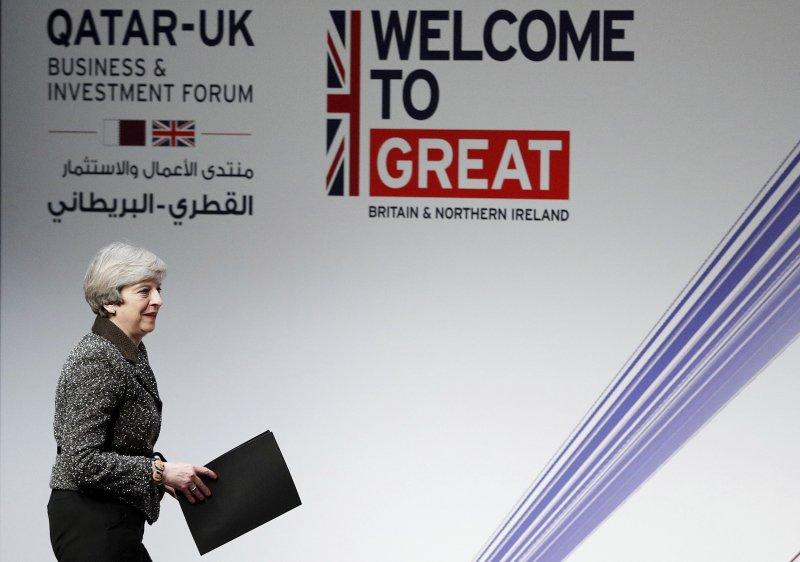英國首相梅伊正式啟動脫歐程序,宣示將帶領所有英國人民達成最好的協議。(美聯社)