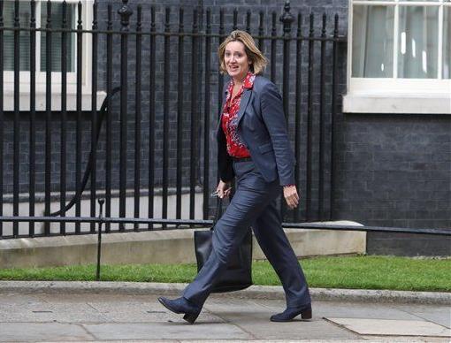英國內政大臣拉德(AP)