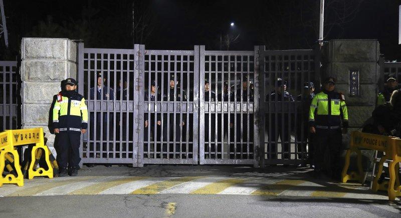 關押南韓前總統朴槿惠的京畿道義王市首爾看守所(AP)