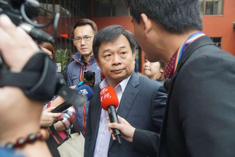 20170331-行政院副院長林錫耀受訪。(盧逸峰攝)