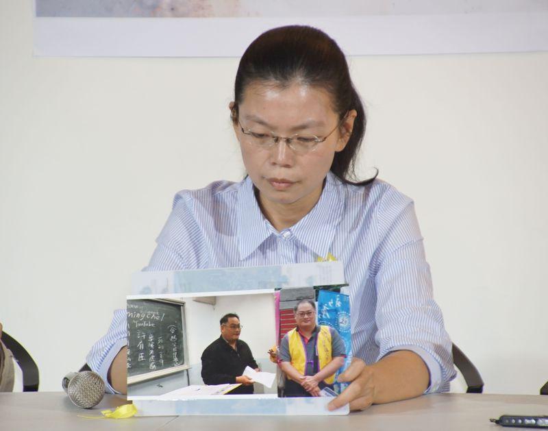 20170404-李明哲之妻李凈瑜宣布將親赴北京。(盧逸峰攝)