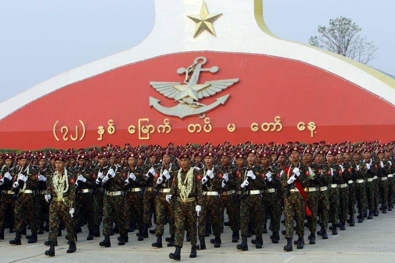 翁山蘇姬承認,緬甸政府希望透過修憲控制軍隊權力。(美聯社)