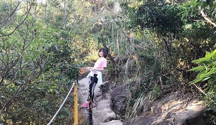 為了能一路玩到掛,邱沁宜非常注重運動,讓自己有高度的健康自由度。(圖/daisychiu31@facebook)