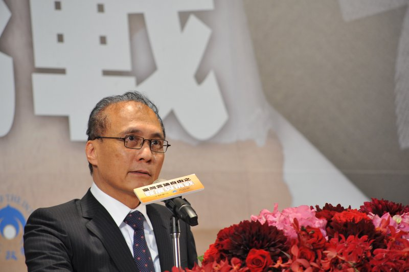 20170407-「台灣言論自由之發展與挑戰座談會」,行政院院長林全致詞。(甘岱民攝)