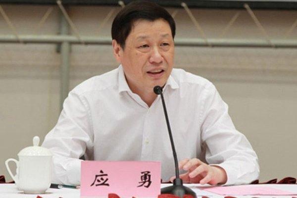 2017年6月份即將登場的雙城論壇,目前朝向由柯文哲與上海市長應勇(見圖)碰面。(取自www.bannedbook.org)