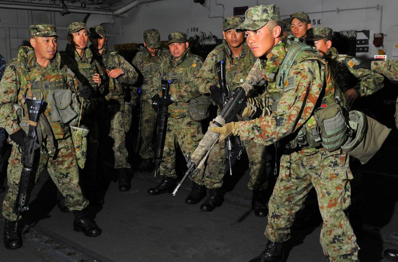 日本「水陸機動團」的骨幹,陸上自衛隊「西部方面普通科連隊」(西普連)(Wikipedia / Public Domain)