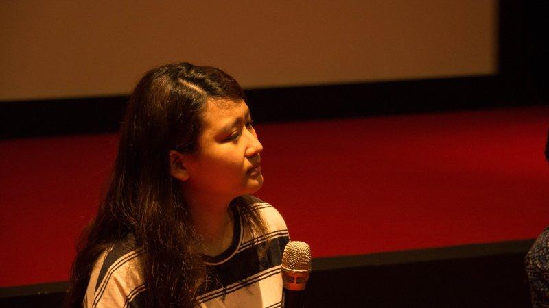 桃園城市紀錄片。劉孟芳分享在拍攝紀錄片《阿嬤》的心路歷程。(「拍桃園Action Taoyuan!」提供)