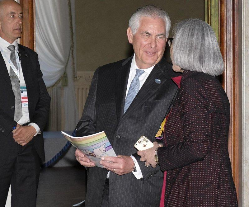 美國國務卿提勒森將訪問俄羅斯,討論敘利亞問題(AP)