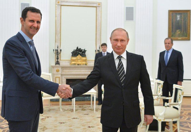俄羅斯長期支持敘利亞阿塞德政權。(美聯社)