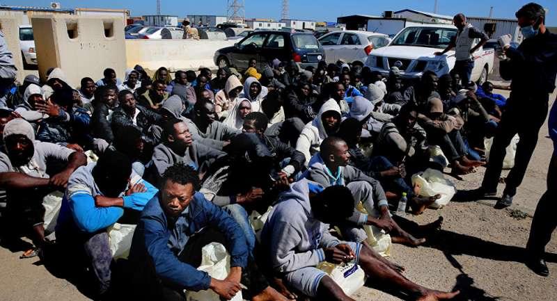 國際移民組織揭露,許多來自撒哈拉以南的年輕男子遭綁架,並在奴隸市場被當貨物買賣(美聯社)