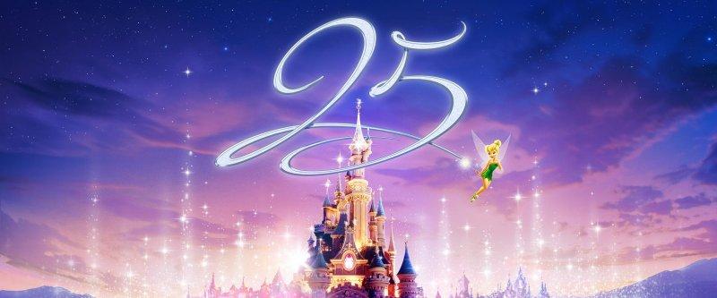 歐洲唯一的迪士尼樂園:巴黎迪士尼開幕25周年(翻攝Disneyland Paris)
