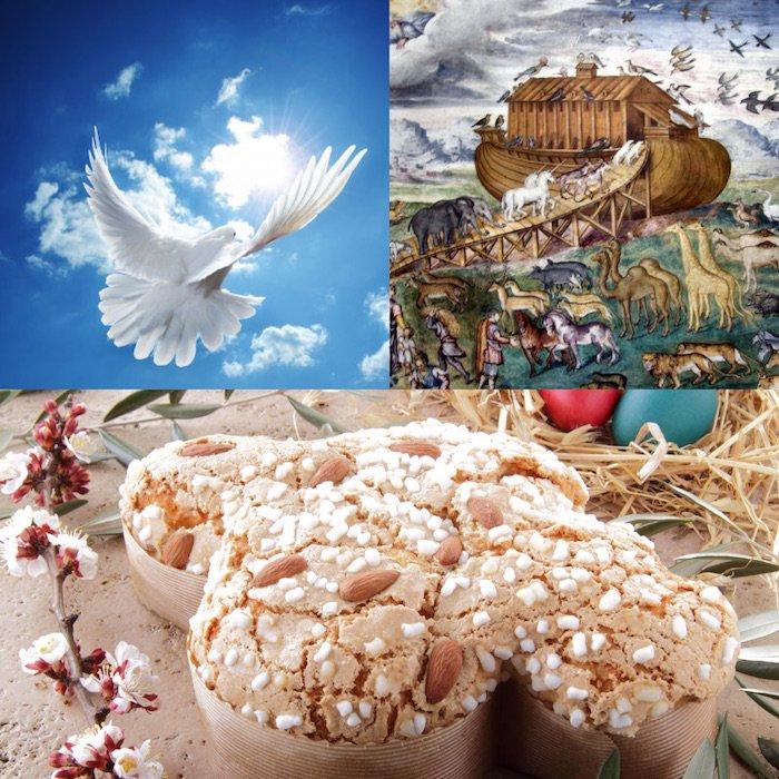 義大利、復活節、美食(曾廣儀提供)