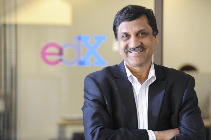 MIT教授,同時也是 edX 的創辦人兼 CEO Anant Agarwal。(圖/edX@facebook,數位時代提供)