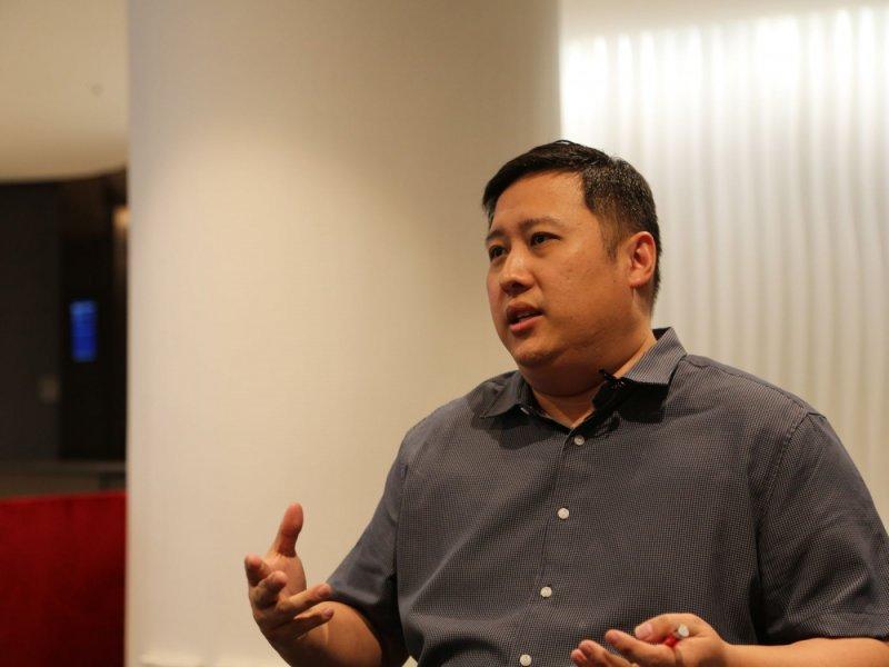 MIT 數位學習辦公室資深計畫經理 Andrew Ngui。(圖/James Huang ,數位時代提供)