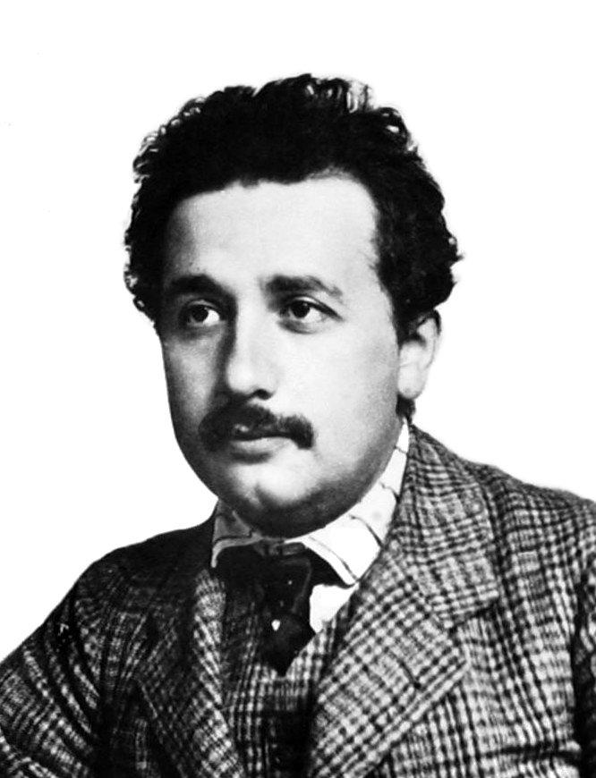 1904年,25的愛因斯坦。(wikipedia/public domain)