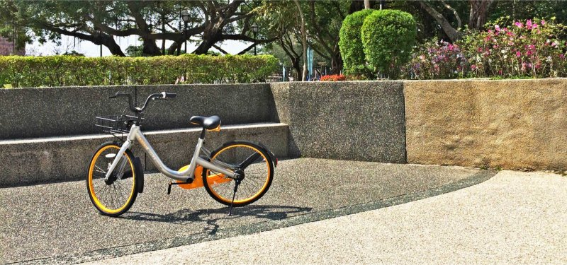 台東在22日起,開始開放無樁共享單車「OBIKE」試營運。(取自obike網站)