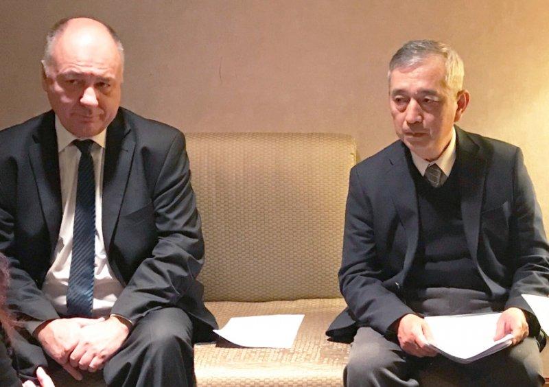 特別邀請德國與台灣研究權威 Stefan Schreiber 教授與翁昭旼教授進行對談。(圖/風傳媒攝)