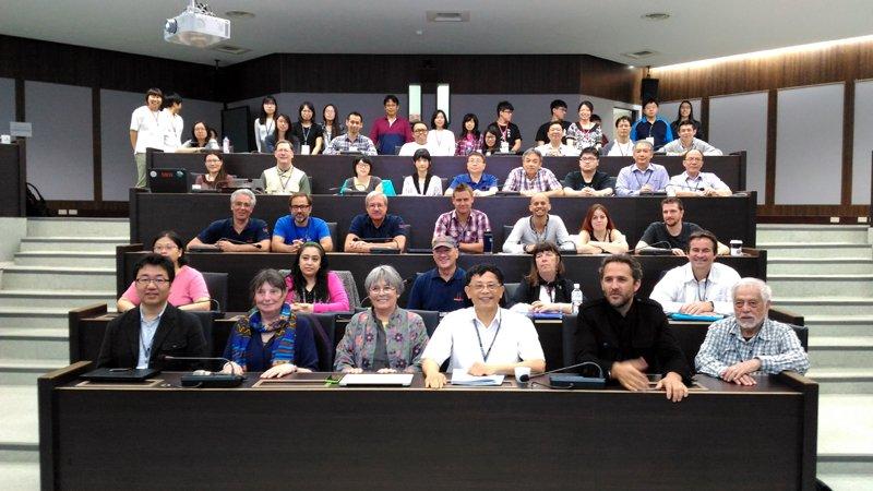各國學者展開兩天的珊瑚研討會,共同關心珊瑚生態系的未來。(圖/國立海洋大學提供)