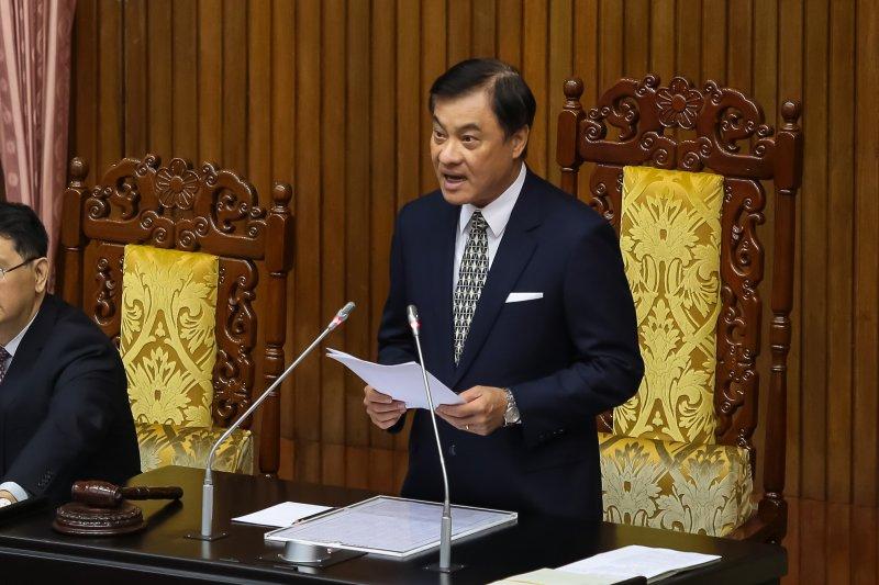 20170425-立法院長蘇嘉全25日主持院會。(顏麟宇攝)