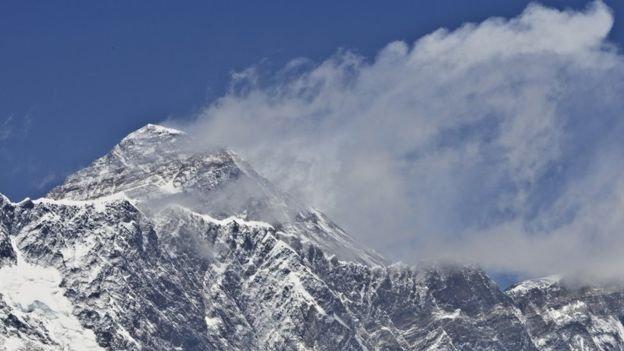 斯特克曾在沒有攜帶供氧設備下成功攀登珠峰。(BBC中文網)
