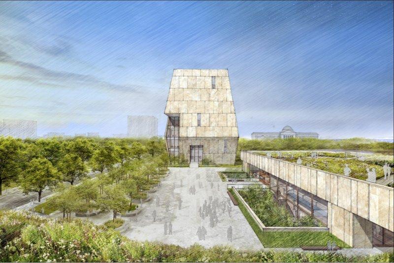 「歐巴馬總統中心」(Barack Obama Presidential Center)設計圖公布,其核心就是歐巴馬總統圖書館(AP)