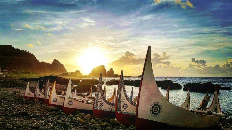 東清灣的日出美得讓人忘了呼吸。(圖/俞嘉琦 拍攝)