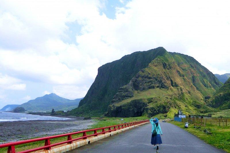 每一條道路、每一個轉角,都可以是美照拍攝地點。(圖/俞嘉琦 拍攝)