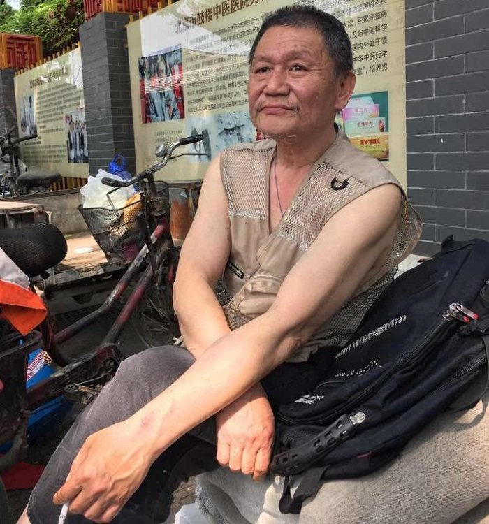 倪玉蘭的丈夫董繼勤。(倪玉蘭臉書)
