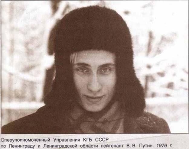 年輕時的普京。(取自網路)