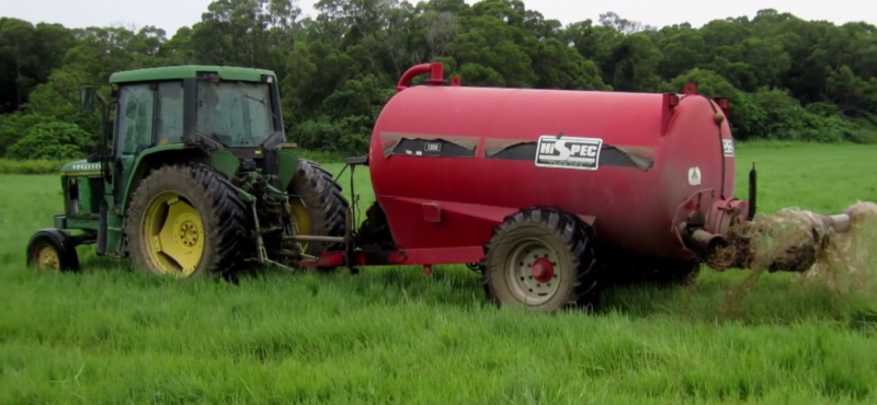 2017-05-09-養豬場豬糞豬尿之沼渣沼液,可用於當作農田肥料使用-取自南投縣政府