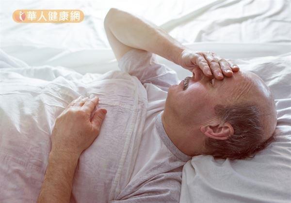 人過中年,失眠問題更加普遍。(圖/華人健康網提供)