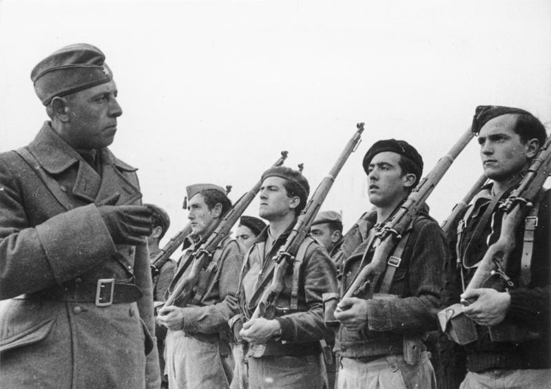 西班牙內戰時期為佛朗哥助陣的納粹德軍(Bundesarchiv, Bild 183-E20569-21@Wikipedia / CC BY-SA 3.0 de)