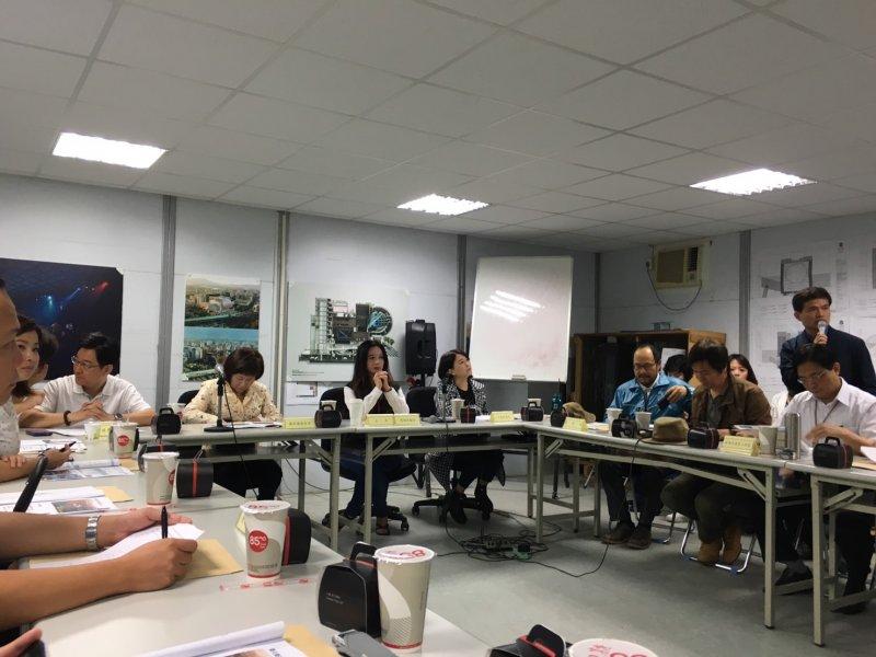 台北市議會教育文化委員會16日上午視察持續無法動工的台北藝術中心。(王彥喬攝).jpg