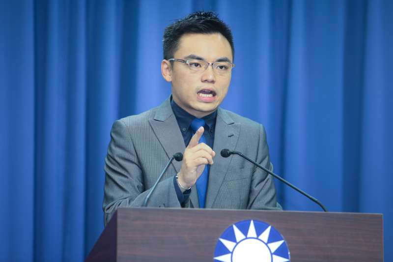 國民黨文傳會副主委洪孟楷(陳明仁攝)
