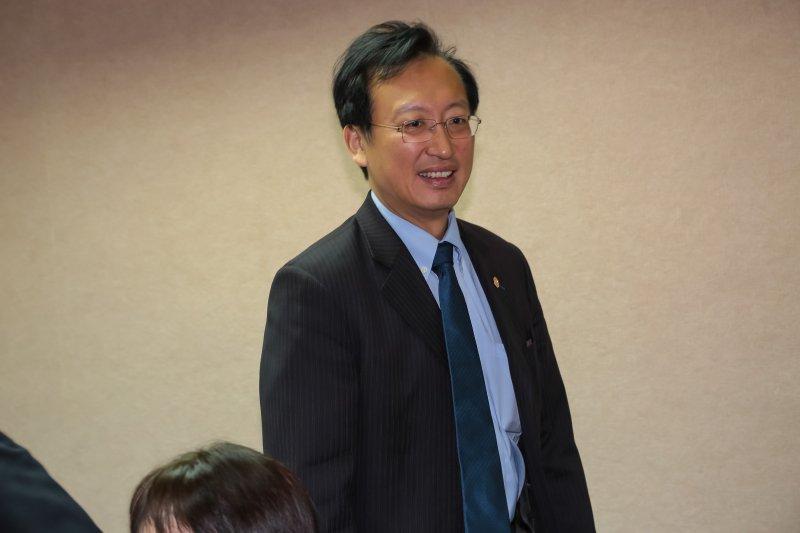 20170517-外交部次長吳志中17日至立院外交國防委員會備詢。(顏麟宇攝)
