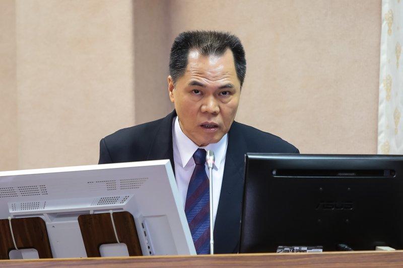 20170517-國安局副局長周美伍17日於司法法制委員會備詢。(顏麟宇攝)