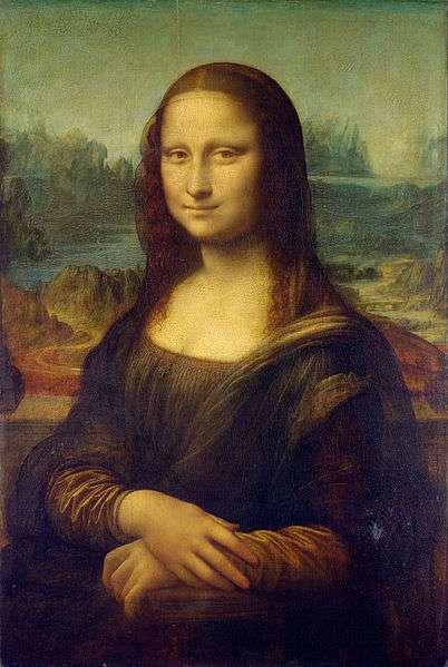 達文西最著名的畫像之一《蒙娜麗莎》。(維基百科公有領域)