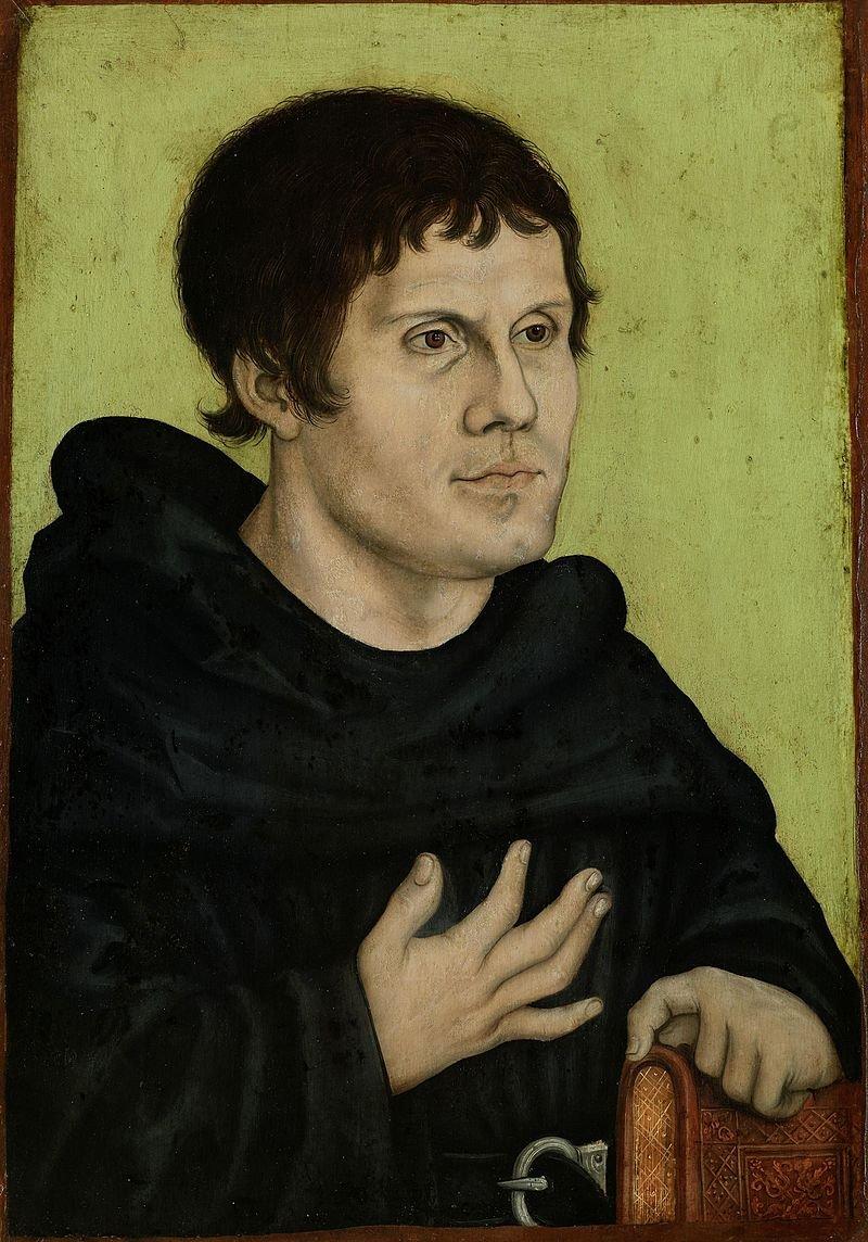 馬丁路德畫像。(wikipedia/public domain)