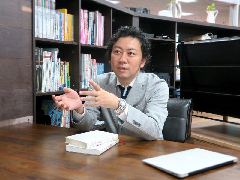 秋山社長不希望僅單方面為日本服務,也同時致力將台灣推廣回日本。(圖/媒迪亞維博提供)