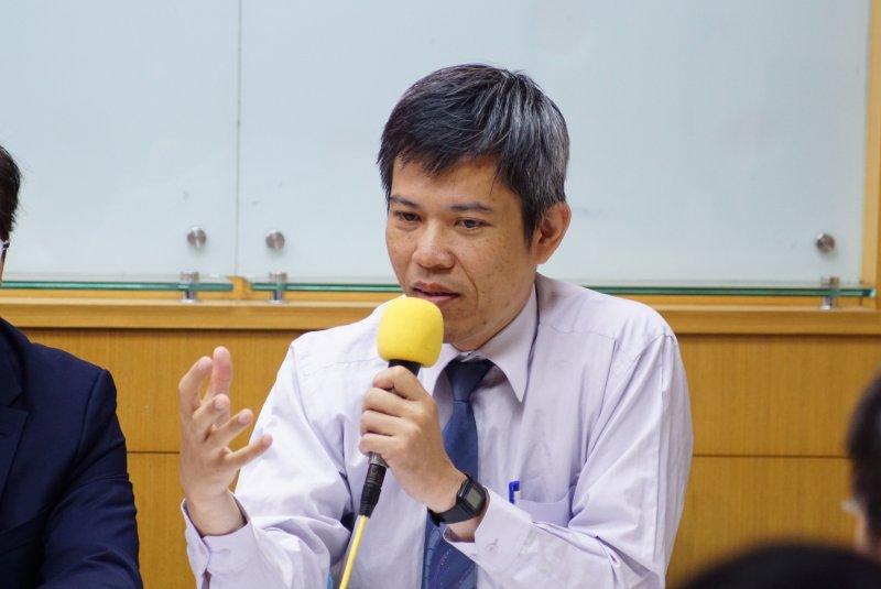 20170525-全國宗教大聯盟記者會,陳志宏發言。(盧逸峰攝)